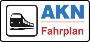 Externer Link: AKN Fahrplan Button
