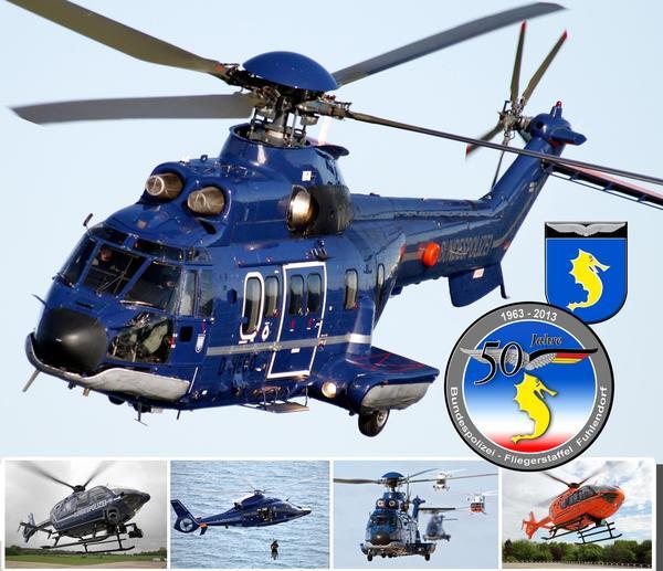 50 Jahre Bundespolizei-Fliegerstaffel Fuhlendorf
