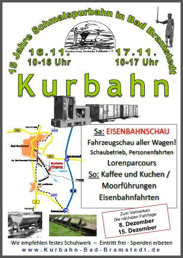 Fahrtage der Kurbahn im November 2013