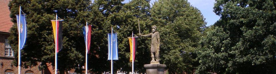 Roland, Wahrzeichen Bad Bramstedts,