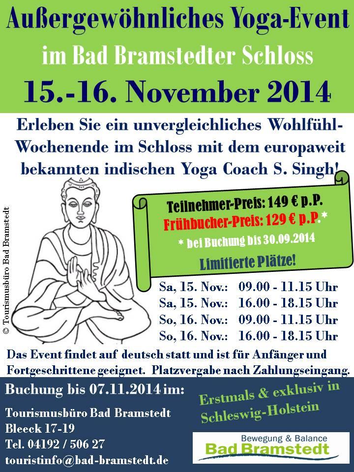 Außergewöhnliches Yoga-Event 2014